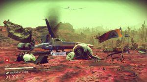 My (Crashed) Ship