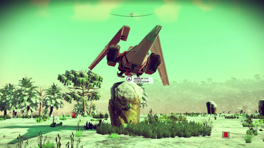 Another fine landing job.