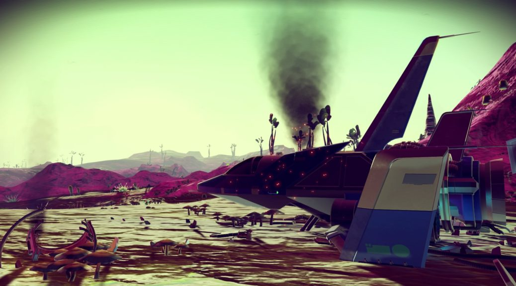 No Man's Sky: Find Crashed Ships